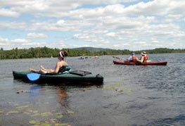 Guided kayak trips Millinocket ME, Katahdin Region Area