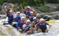 Penobscot Adventures whitewater rafting vacation trip