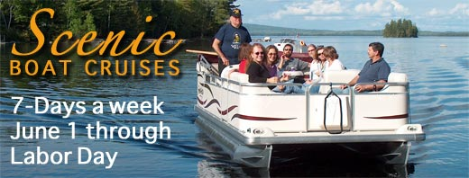 Scenic Moose_Wildlife Boat Tours on Millinocket/Ambejejus Lakes