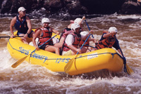 Penobscot River whitewater rafting with North Country Rivers